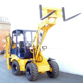 ПОГРУЗЧИКИ дизельные фронтальные на сочленённом шасси со сменным навесным оборудованием