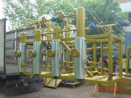 Блок подготовки газа