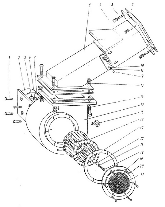вентилятор напора для ЭКГ-5А