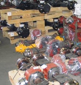 Запасные части, расходные материалы для строительной техники FIORI от официального дилера