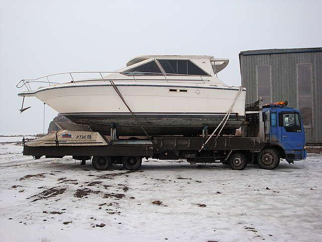 фото перевозка лодки