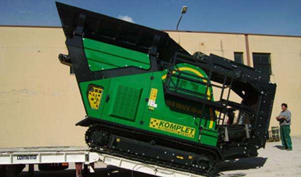 Дробильные установки ДСК/ дробилка щёковая самоходная KOMPLET LEM TRACK 60-40 (Италия) Лучшее предложение для профессионалов! Компактность, экономичность, быстрая окупаемость, надёжность от официального дилера!