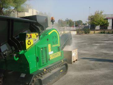 Дробилка роторные молотковые самоходные KOMPLET ITALIA MILL TRACK M5000