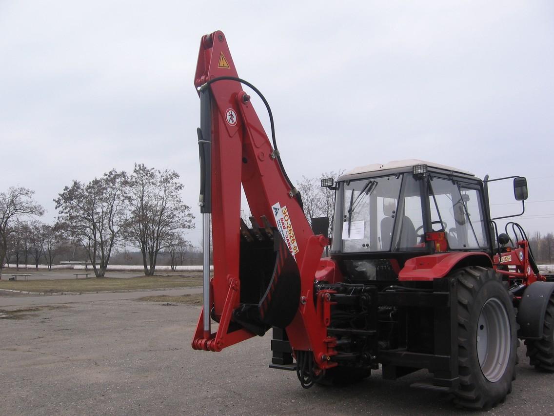 Экскаватор МТЗ 80: технические характеристики, МТЗ 92п.