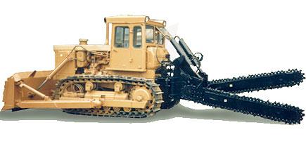 Баровая грунторезная машина БГМ 12-3
