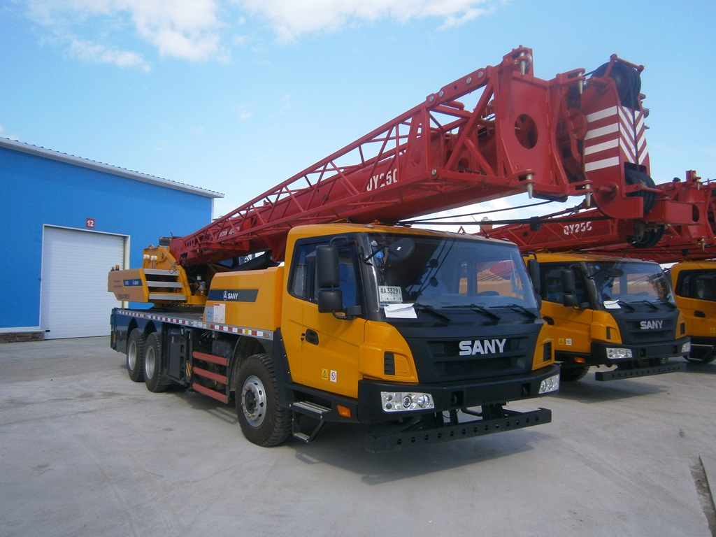 Автокран SANY QY25C (STC250)