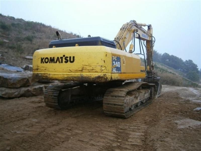 Запасные части Б/У на гусеничный экскаватор KOMATSU PC340-6