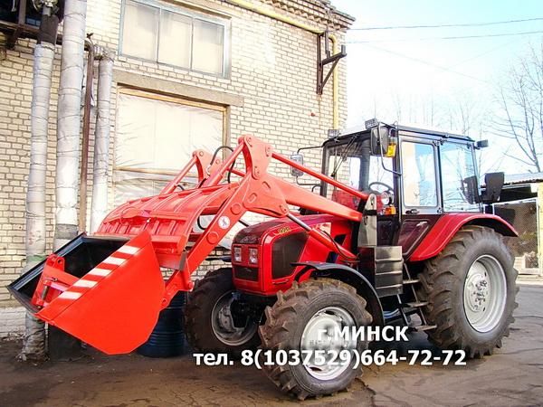 ПФС-0.75БКУ погрузчик фронтальный на базе тракторов МТЗ