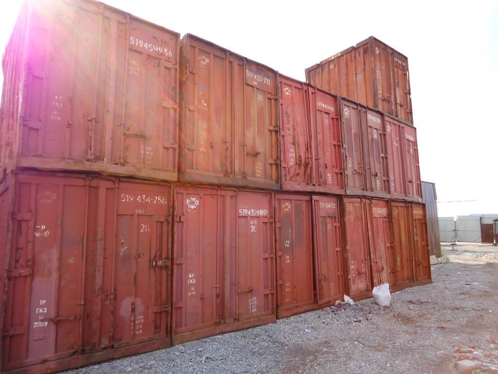 Продажа контейнеров 3т, 5т, 20 и 40 DV,HC футов