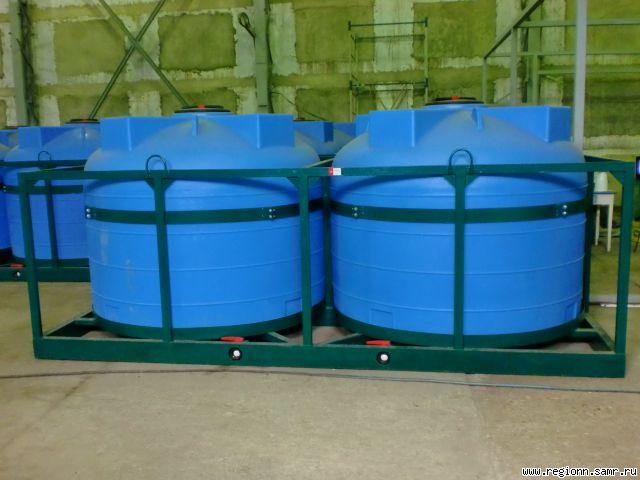 Резервуары для хранения