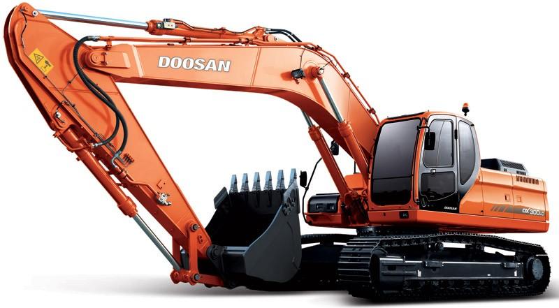 Гусеничный экскаватор Doosan DX300LCA