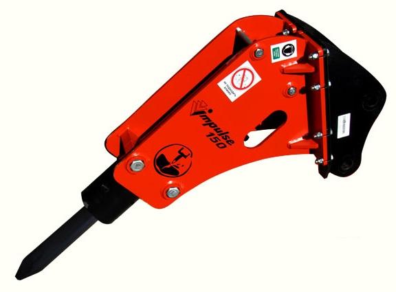 Гидромолот Impulse 150 купить на jcb 3cx volvo 71 komatsu wb97