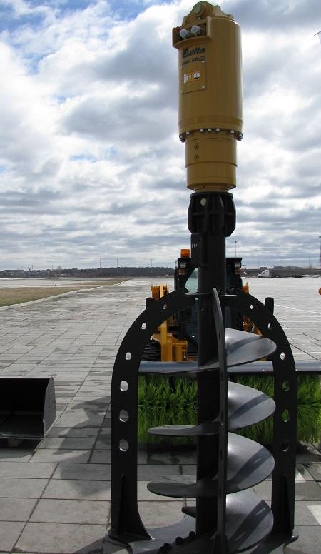 Гидровращатель Delta RD-50 для экскаватора 30 - 60 тонн