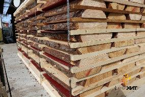 Инфракрасная кассетная бескамерная сушилка для древесины