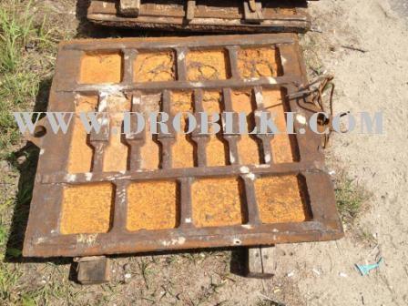 Плиты дробящие к СМД-110А , РАСПРОДАЖА