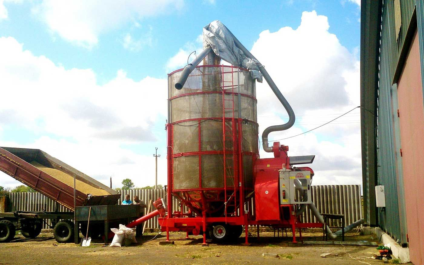 Зерносушилка мобильная «АТМ»