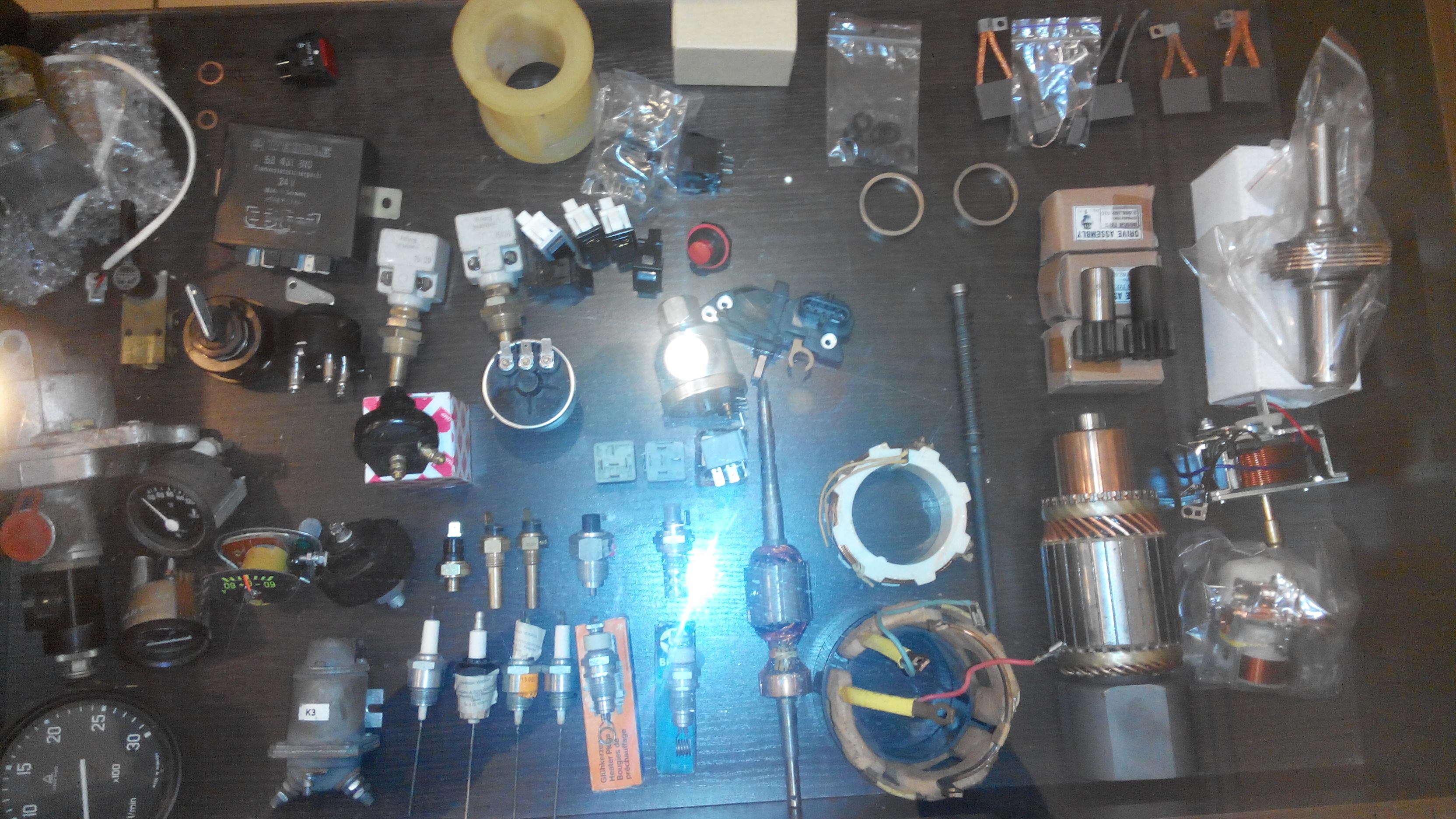 Запасные части к импортным грузовым автомобилям Scania, Volvo, MAN, Renault