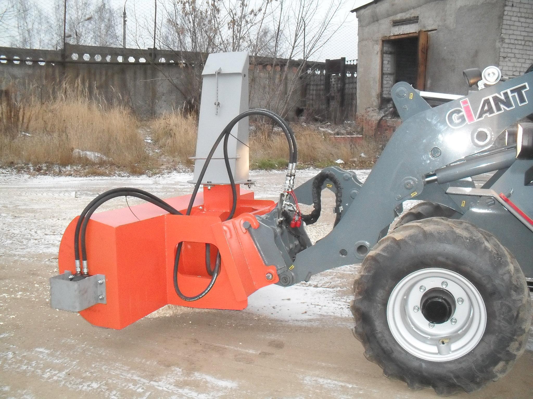 Снегоочиститель для трактора своими руками