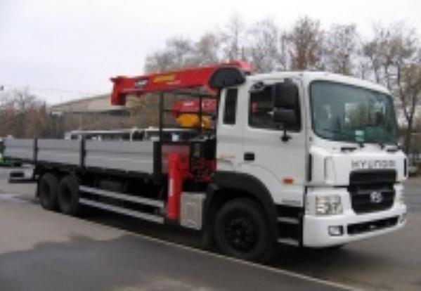Манипулятор, кузов 5-20 тонн, стрела 3-7,5 тонн