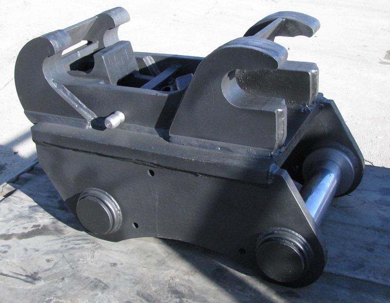 Механический быстросъем, в комплекте с пальцами к экскаватору Hyundai R-170