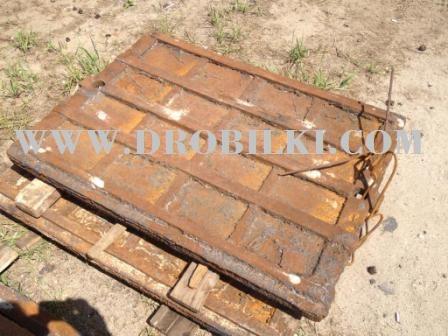 Плиты дробящие к дробилке СМД-110А