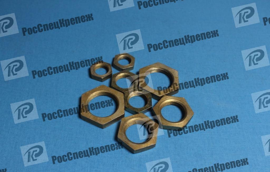 Контргайка стальная ГОСТ 8968-75,