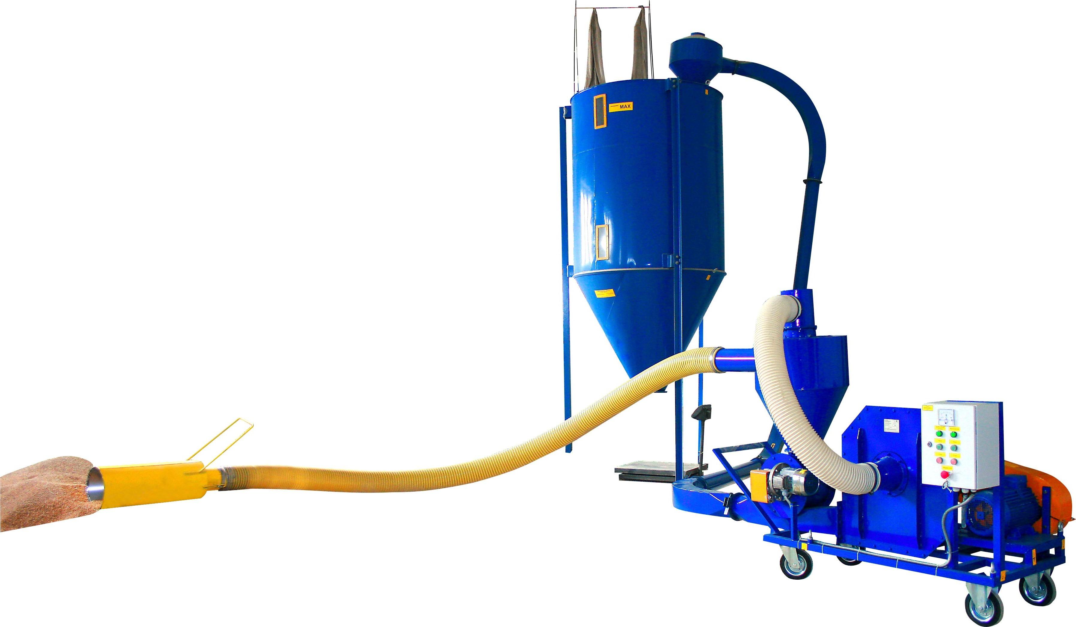 Пневматический Транспортер для Зерна (15 - 20 - 25 т/ч)
