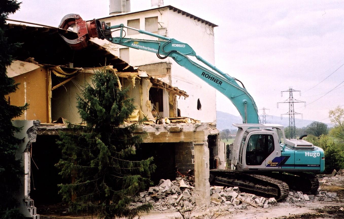 Грейферы для разбора завалов, погрузки камней, грейферные захваты для разрушения пр-ва Rozzi