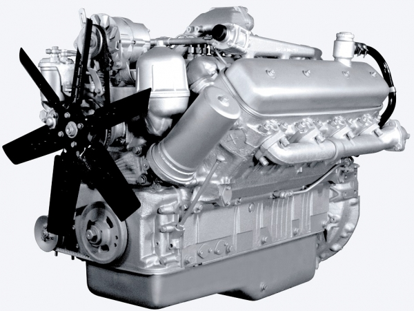 Двигатель ЯМЗ 238 взамен Mercedes на К-744Р3 от официального дилера завода