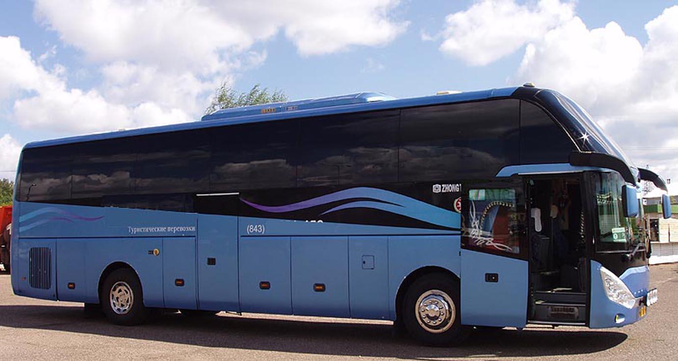 Туристический автобус 2010 г.в. Zhong Tong Navigator LCK6129H, 52м