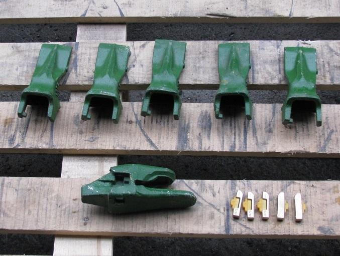 Зубья коронки на ковш Volvo 61.71 Вольво