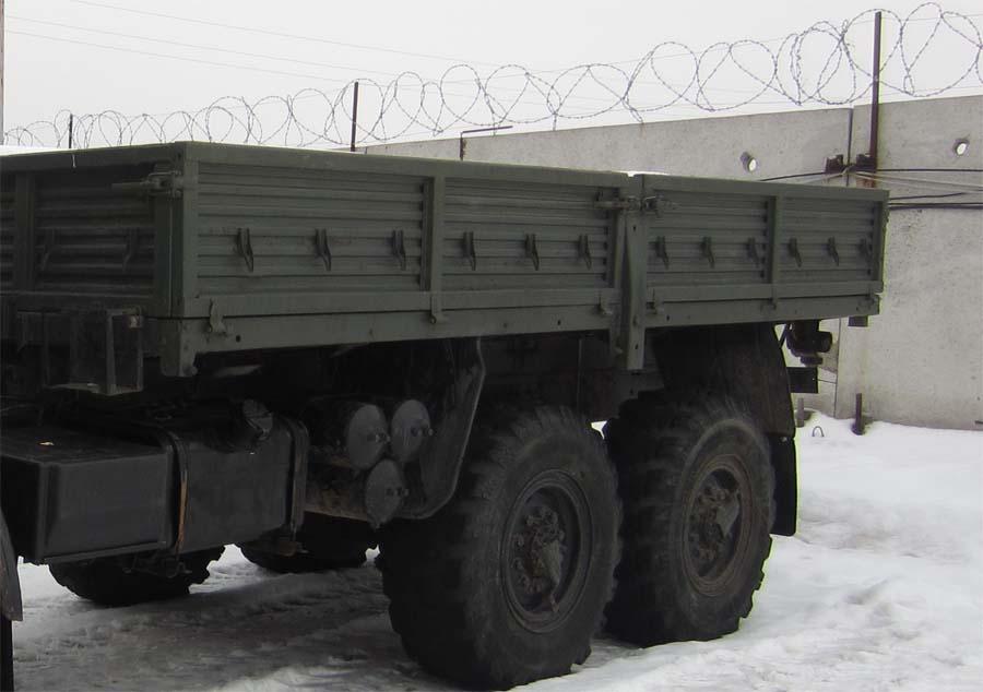 Бортовая платформа к КАМАЗ 4310