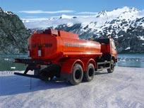 Топливозаправщик КамАЗ-65115 (АТЗ-12)