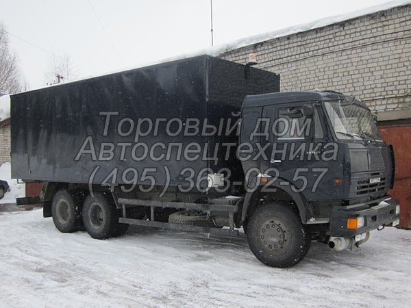 КамАЗ-65115 - для перевозки опасных грузов