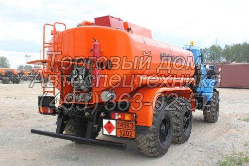 Топливозаправщик УРАЛ-5557 (АТЗ-9)