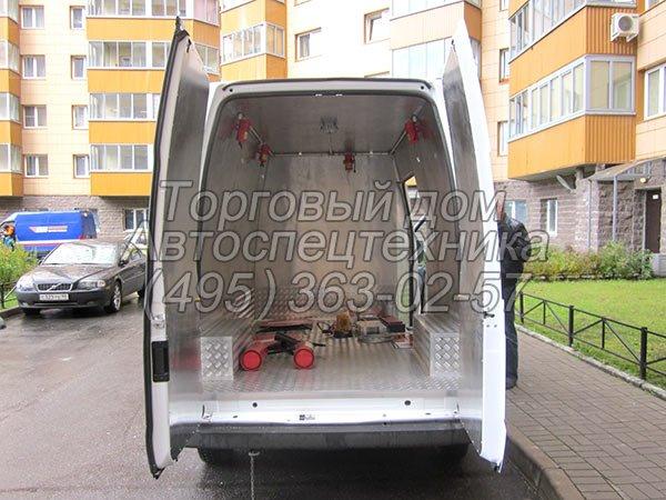 Ford Transit 350 LWB - для перевозки опасных грузов