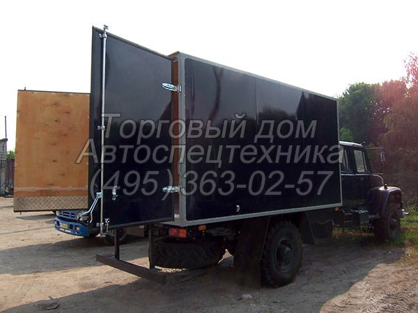 ГАЗ-33081 - для перевозки опасных грузов