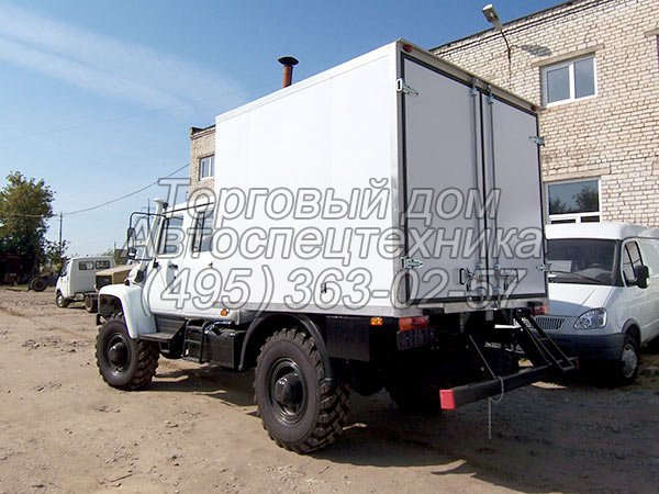 ГАЗ-33081 - для перевозки взрывчатых материалов