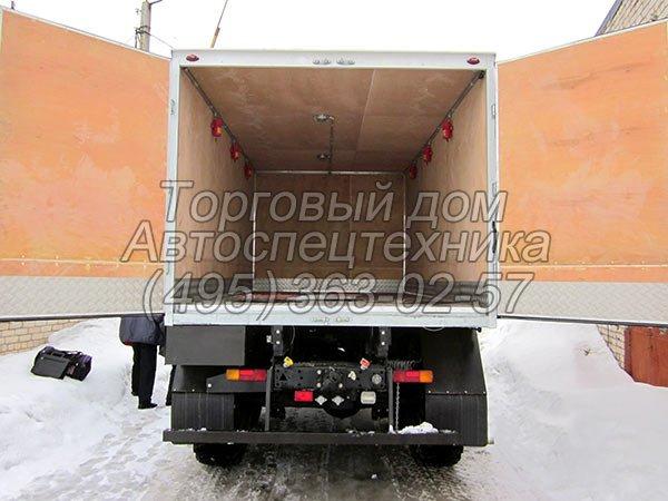 КамАЗ-43114 - для перевозки взрывчатых материалов