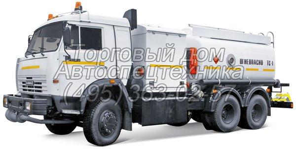 Топливозаправщик аэродромный КамАЗ-65115 (ТЗА-10)