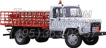 ГАЗ-3309 - для перевозки баллонов с газом