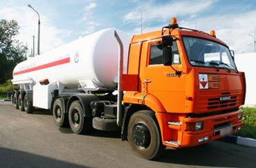КамАЗ-6460 (седельный тягач) для перевозки сжиженного газа