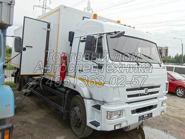 КамАЗ-65117 - для перевозки взрывчатых материалов