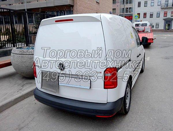Автомобиль для перевозки радиоактивных материалов Volkswagen Caddy