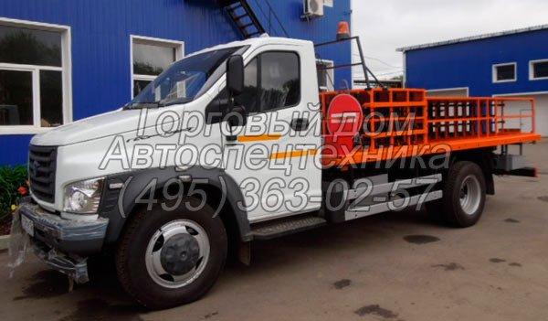 Автомобиль для перевозки газовых баллонов ГАЗон NEXT (НЕКСТ)