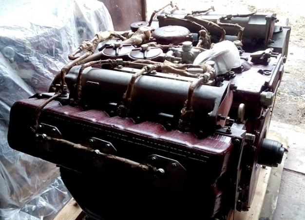 Дизельный двигатель В-46-6 МС