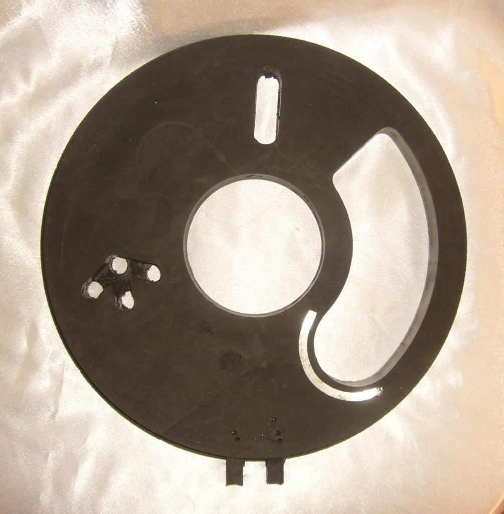 Диск резиновый нижний торкрет установки ALIVA 246