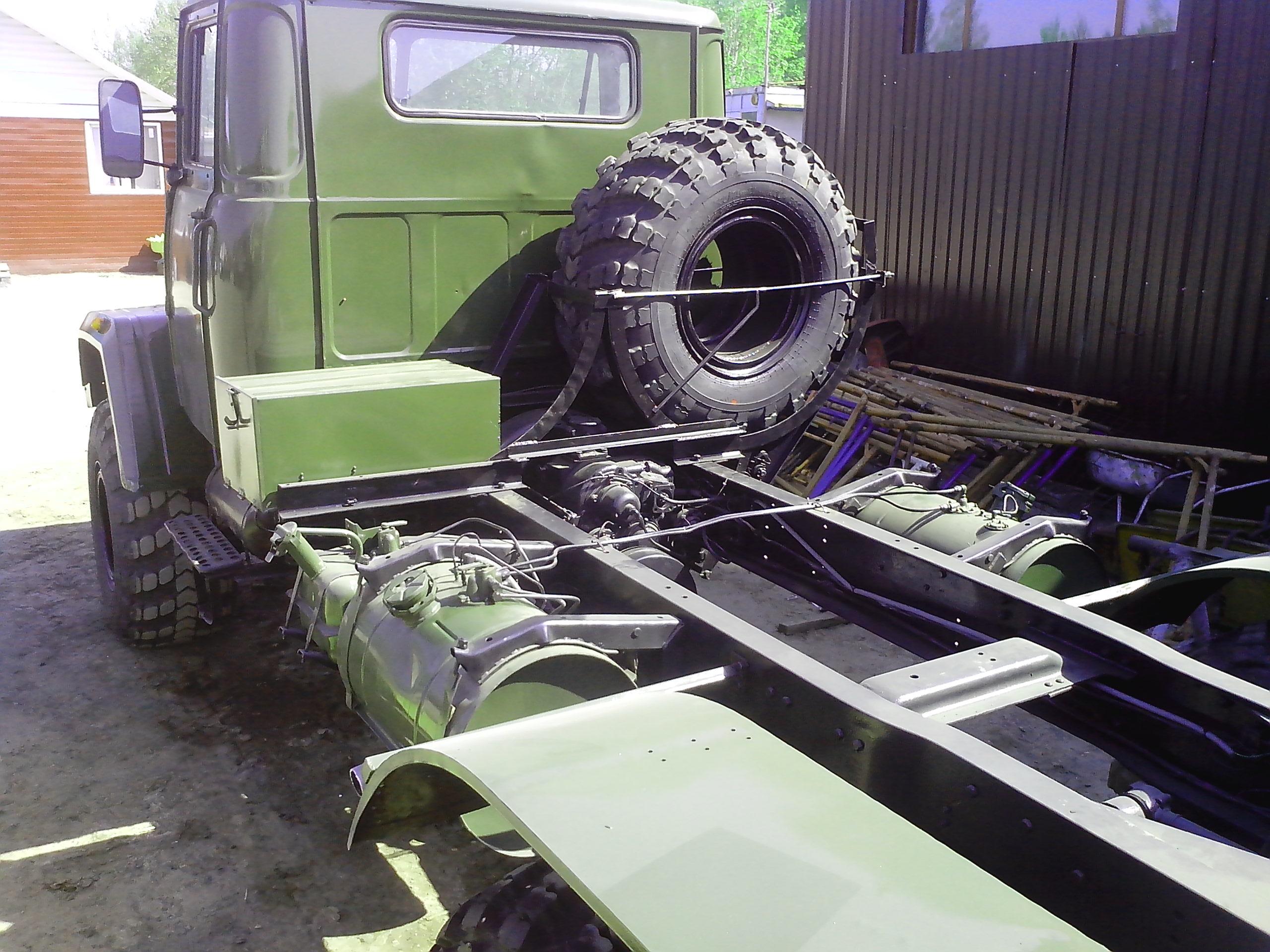 Краз 260 седельный тягач ( 6х6, конверсия, с воен.хранения)