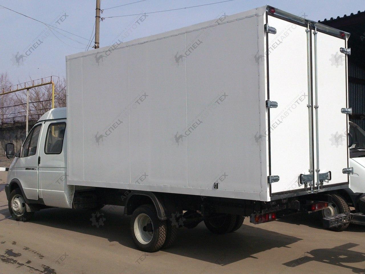 Установка фургонов на б/у автомобили Газель, Валдай, 3309 и др.