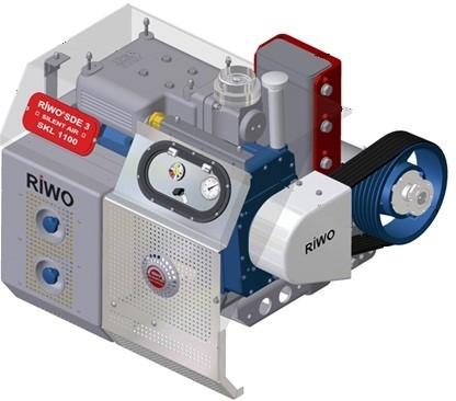 CVS SKL SDE - компрессорный агрегат для установки в шасси тягача